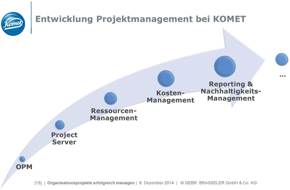 Management Project Server OPM [15] Organisationsprojekte