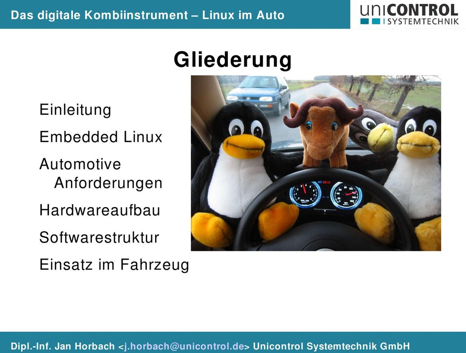Linux Automotive Anforderungen