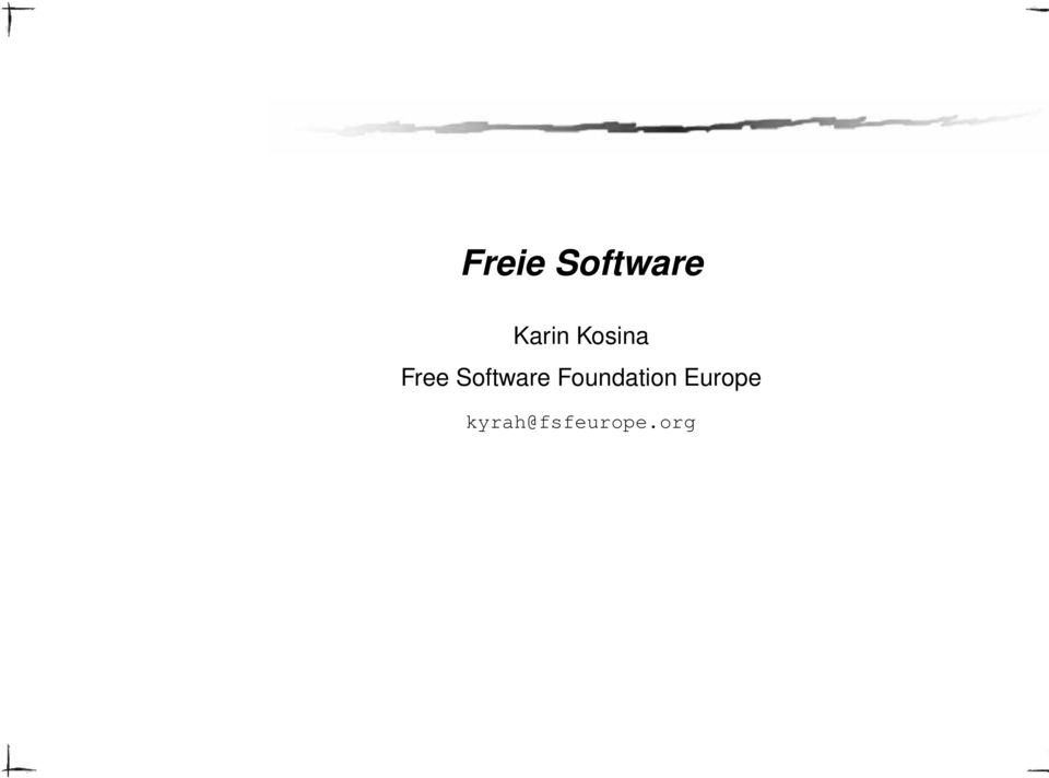 Software Foundation