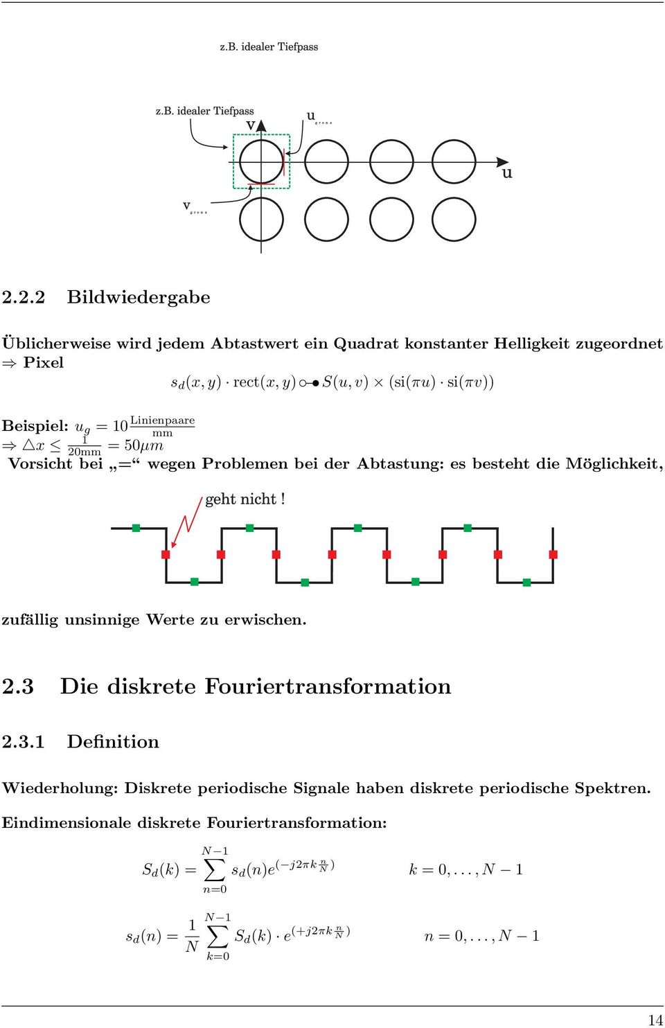 diskrete fourier transformation pdf