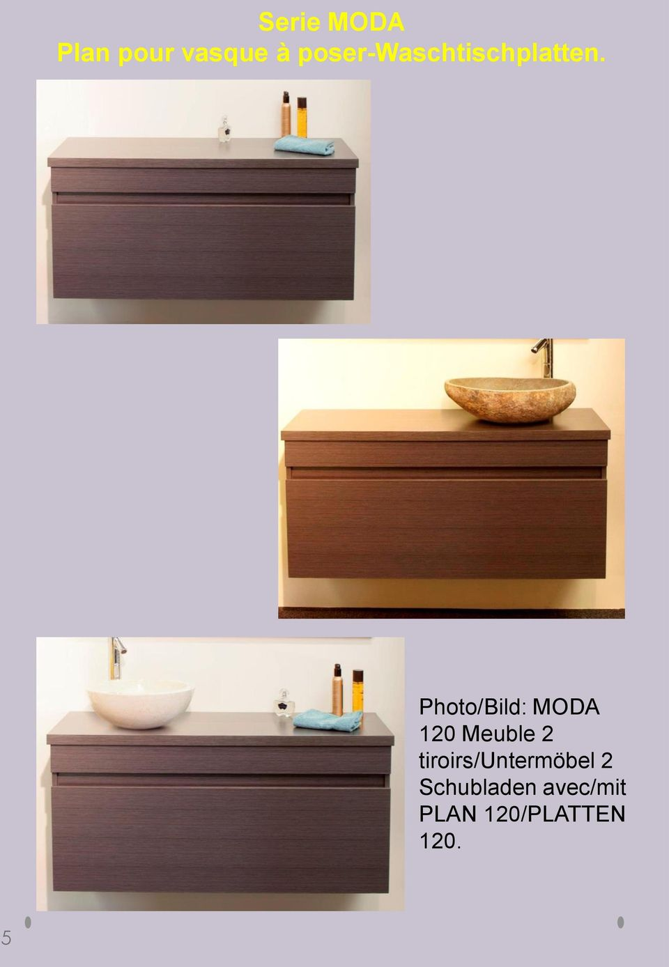 Photo/Bild: MODA 120 Meuble 2