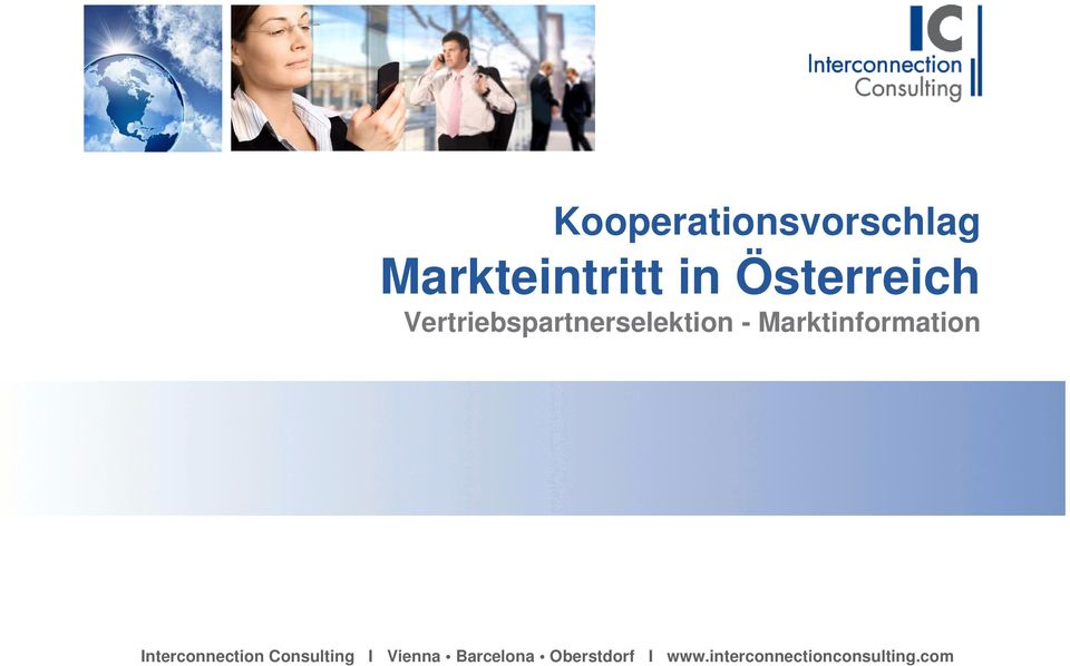 Marktinformation Interconnection Consulting I