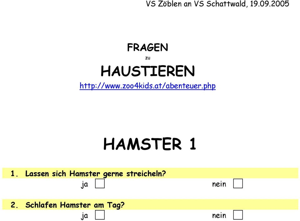 at/abenteuer.php HAMSTER 1 1.
