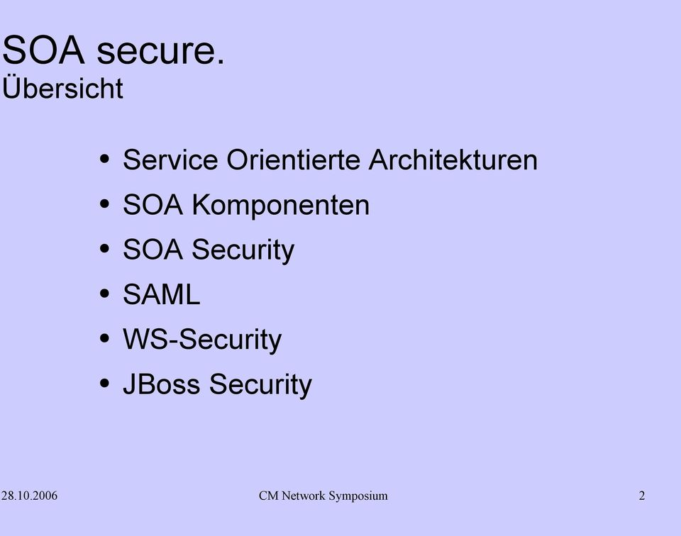 Security SAML WS-Security JBoss