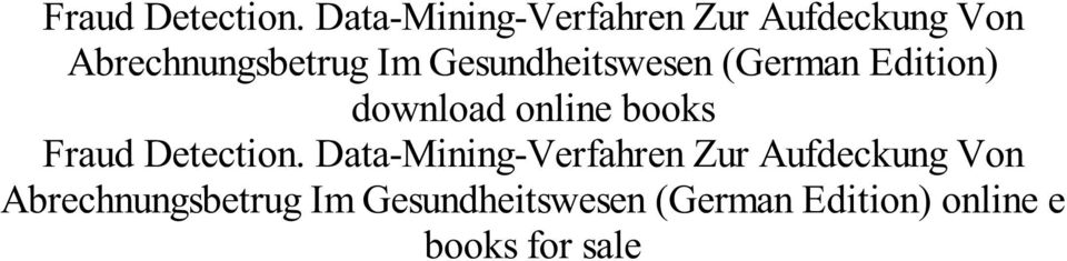 (German Edition) online e books for