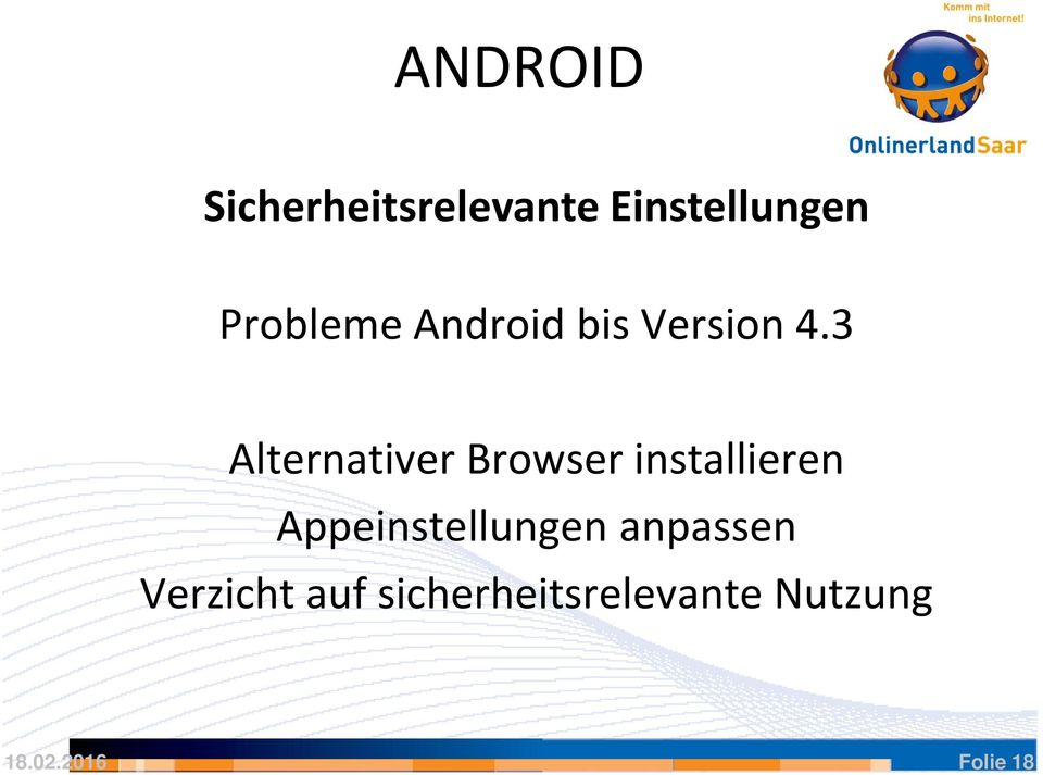 3 Alternativer Browser installieren