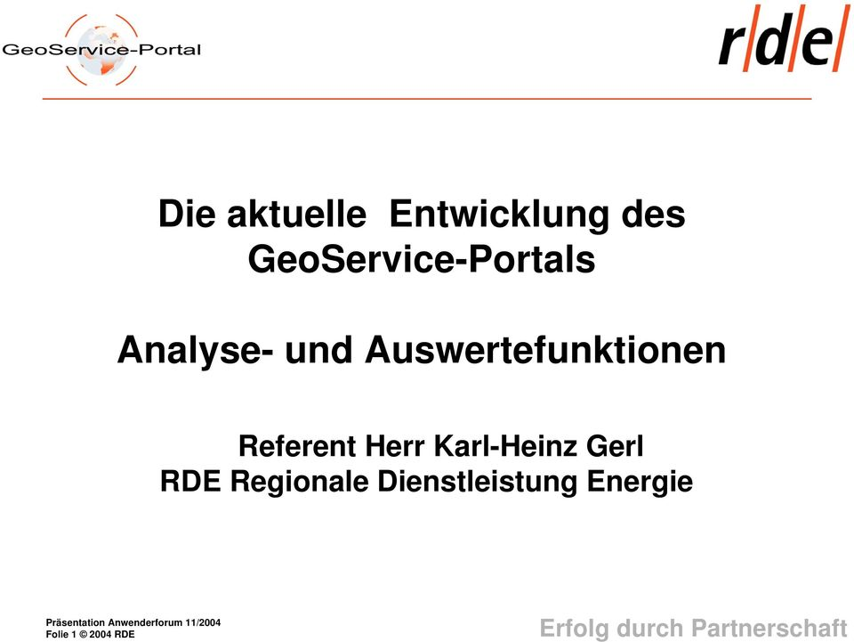 Auswertefunktionen Referent Herr