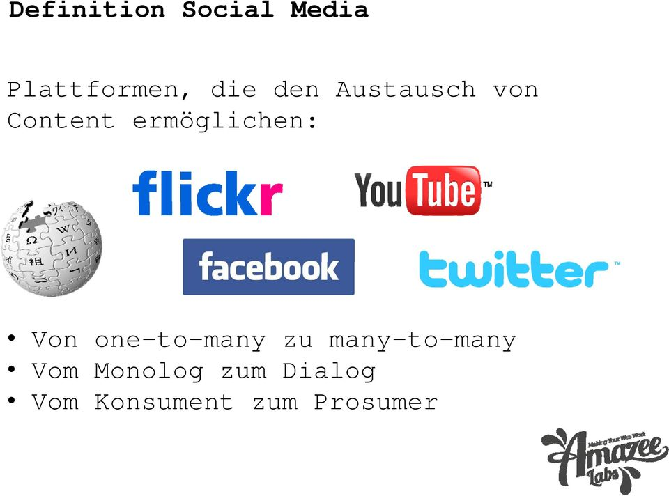 Von one-to-many zu many-to-many Vom