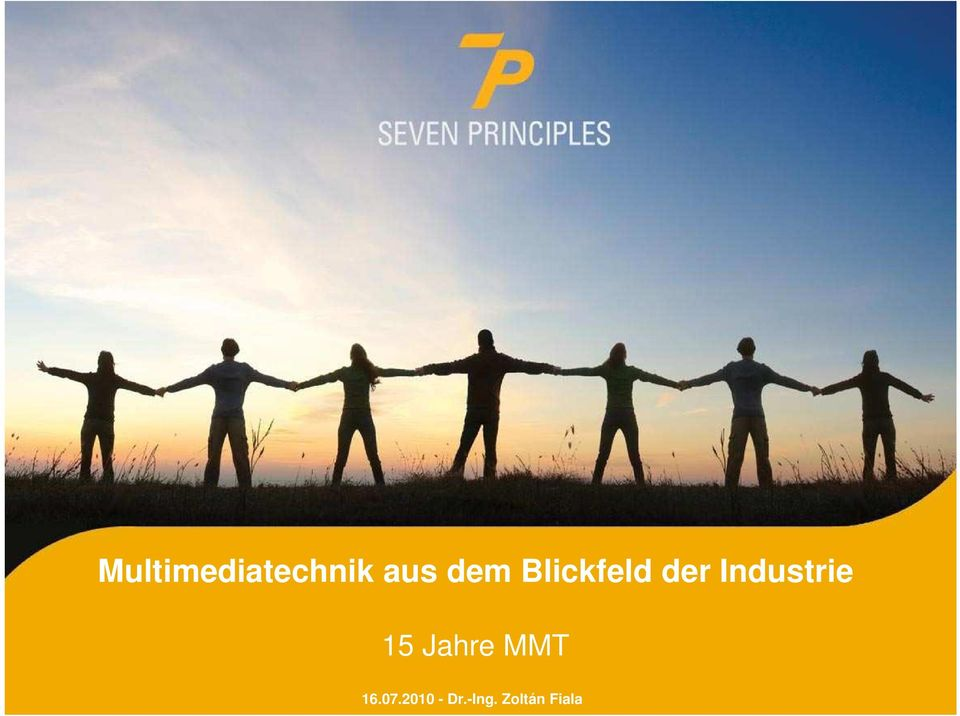 Industrie 15 Jahre MMT