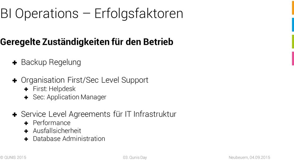 First: Helpdesk Sec: Application Manager Service Level Agreements