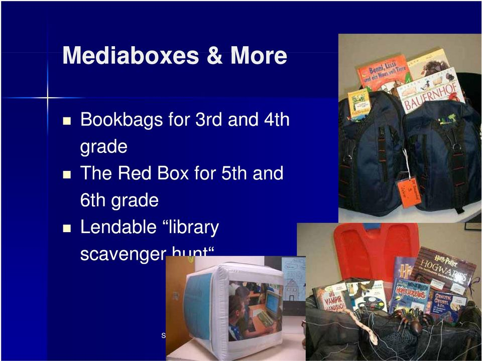 Red Box for 5th and 6th