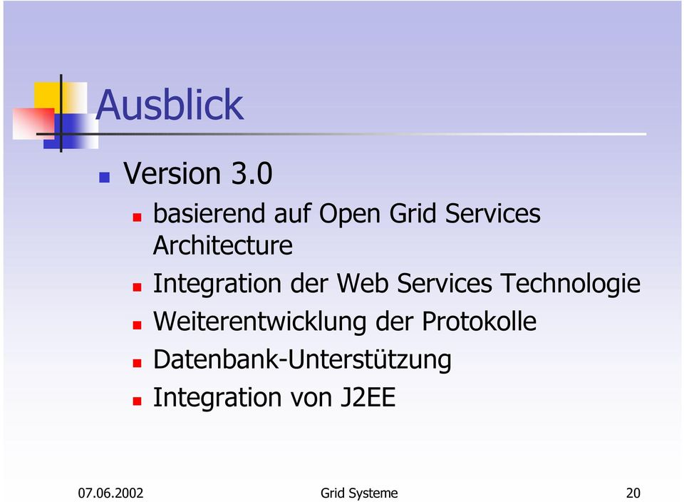 Integration der Web Services Technologie