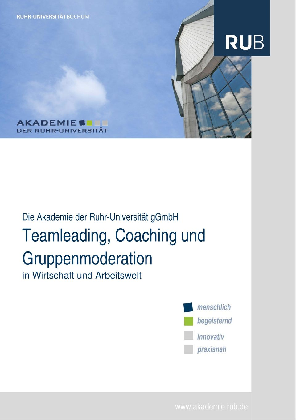 Coaching und Gruppenmoderation in