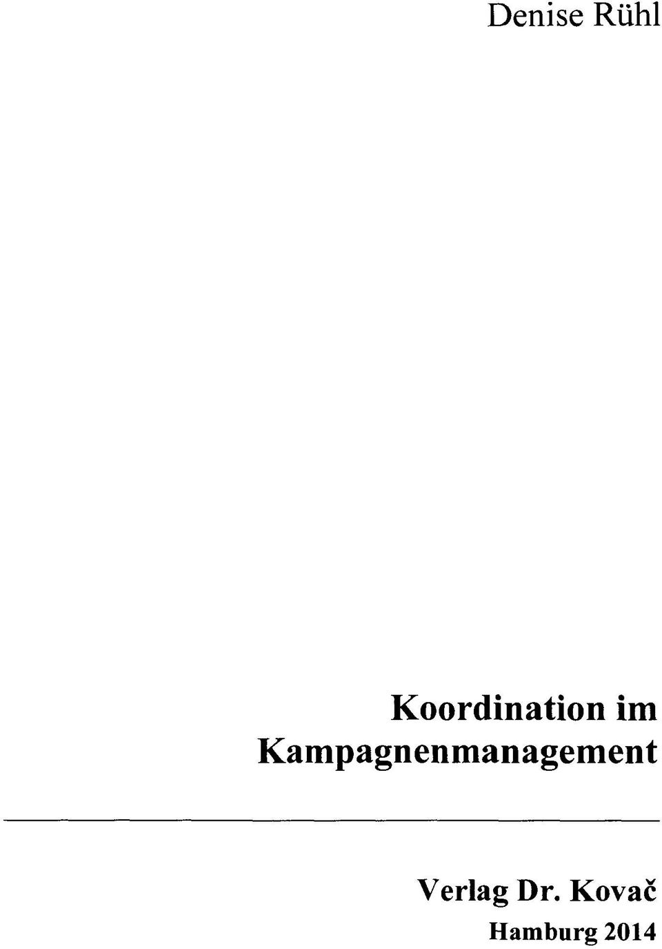 Kampagnenmanagement