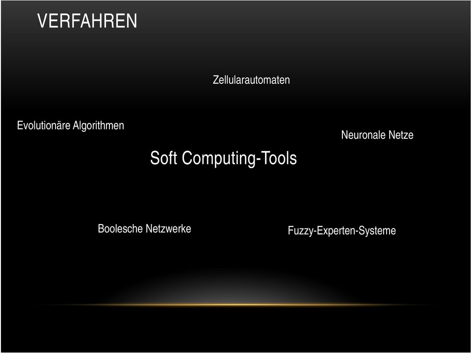 Computing-Tools Neuronale Netze