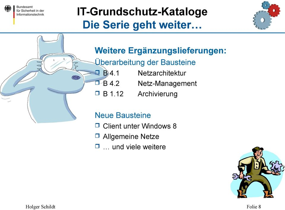 1 Netzarchitektur B 4.2 Netz-Management B 1.