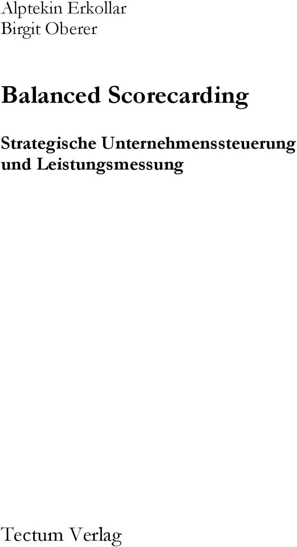 Strategische