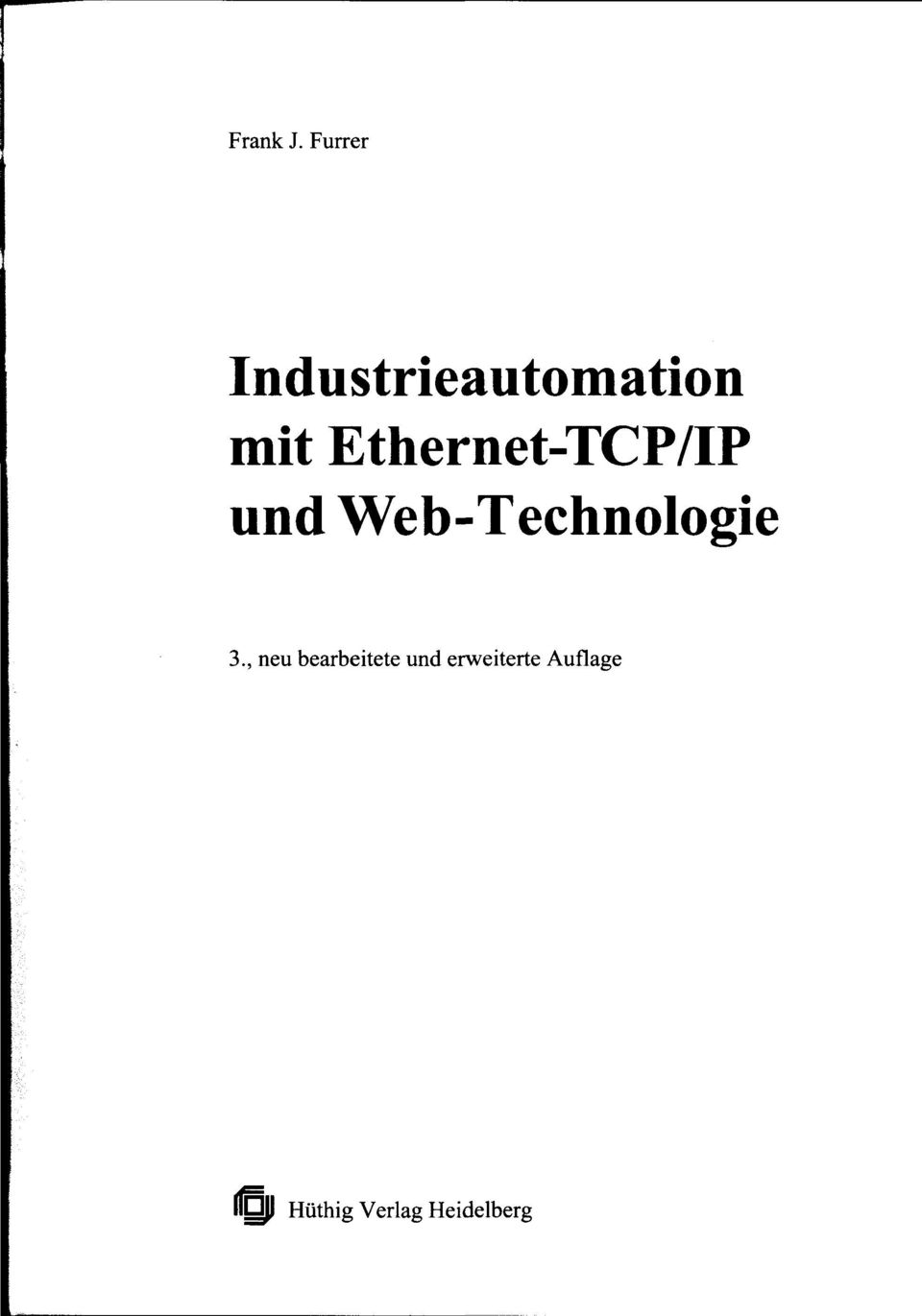 Ethernet-TCP/IP und Web-Technologie