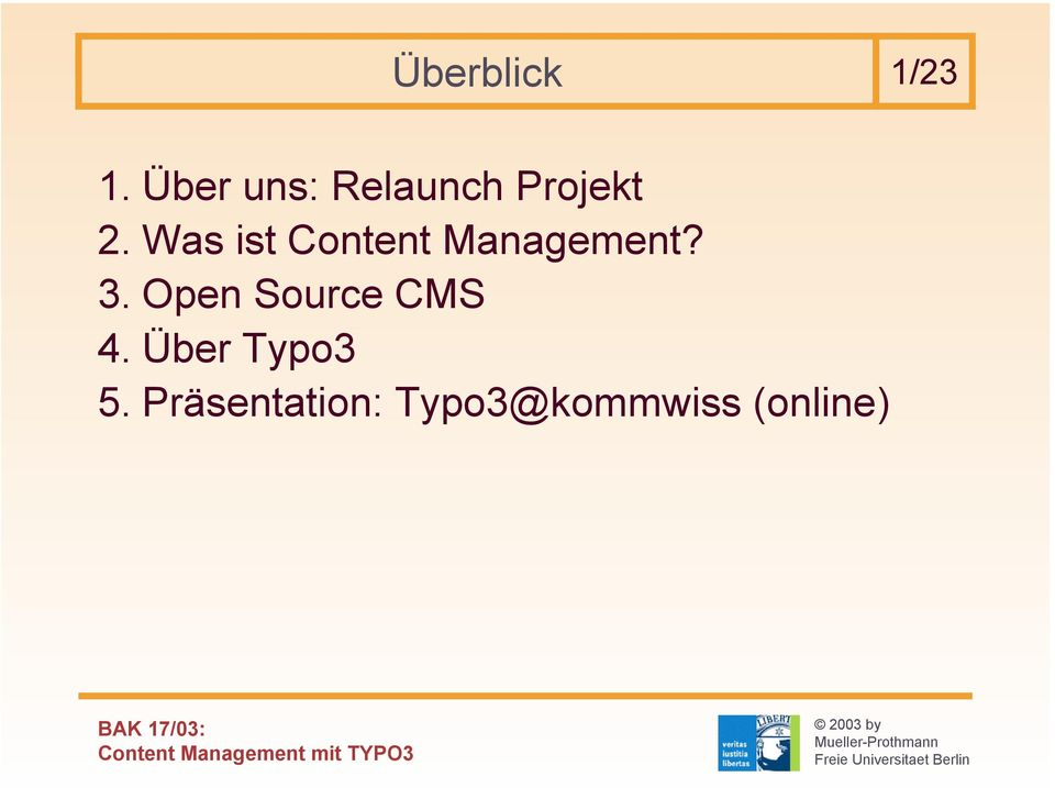Was ist Content Management? 3.