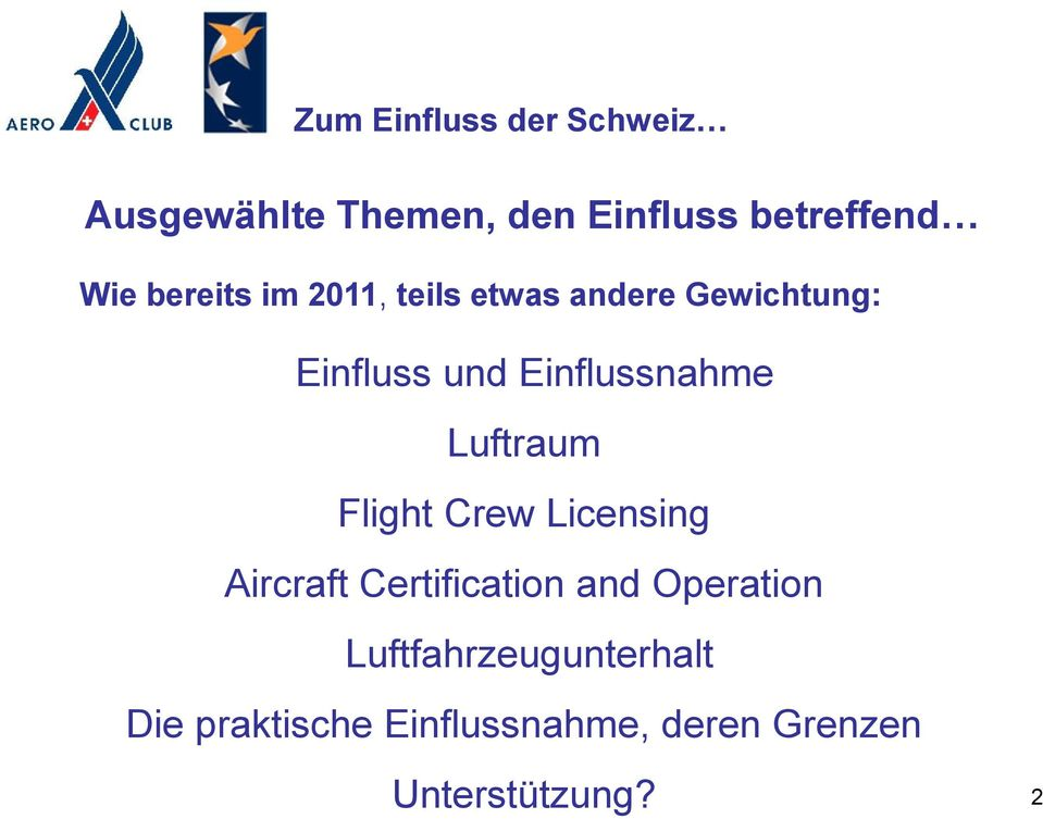 Flight Crew Licensing Aircraft Certification and Operation
