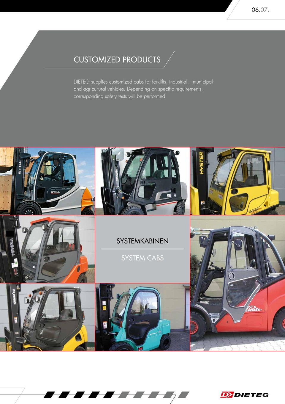 forklifts, industrial, - municipaland agricultural