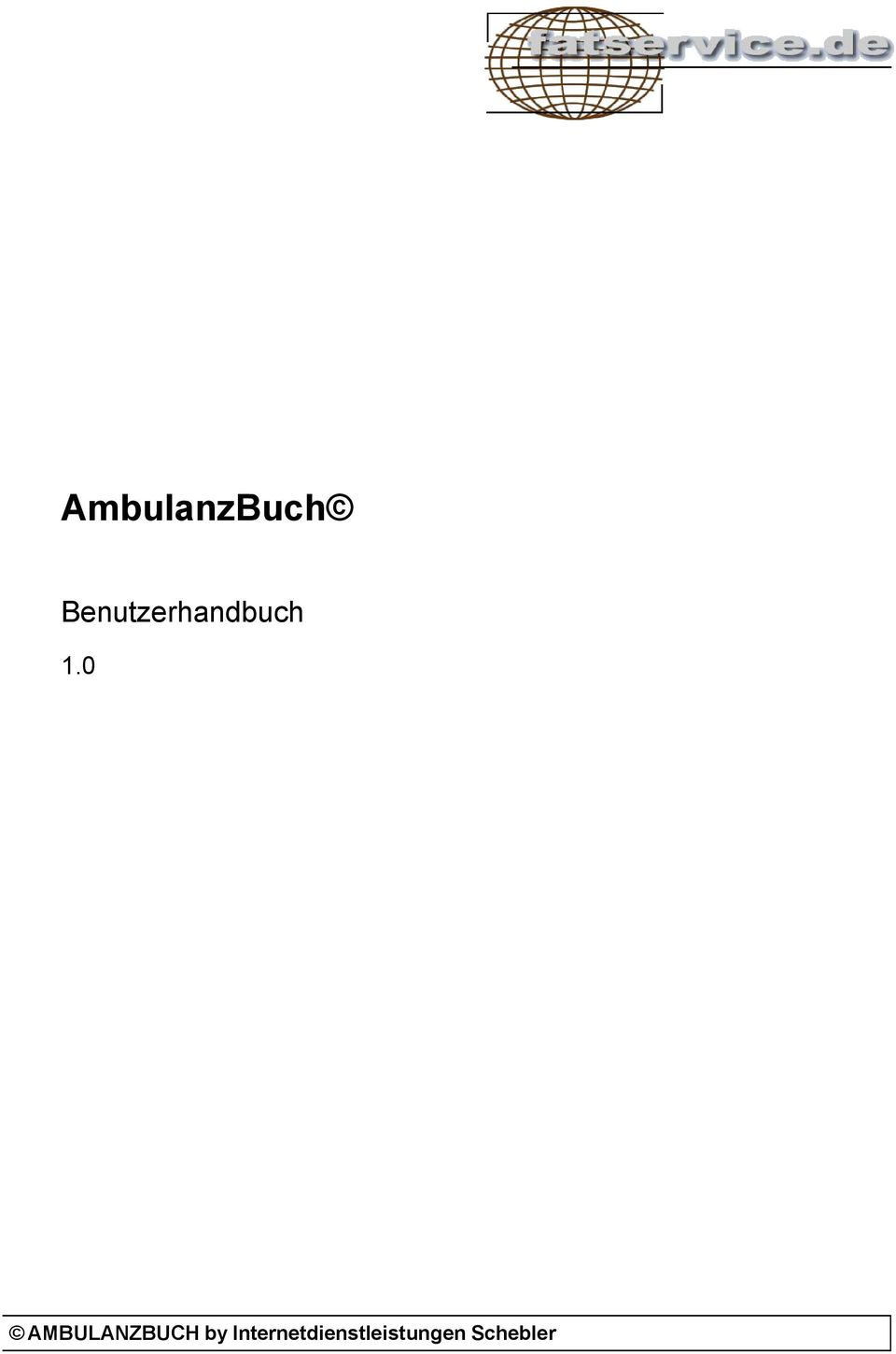 0 AMBULANZBUCH by