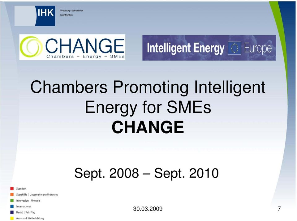 SMEs CHANGE Sept.