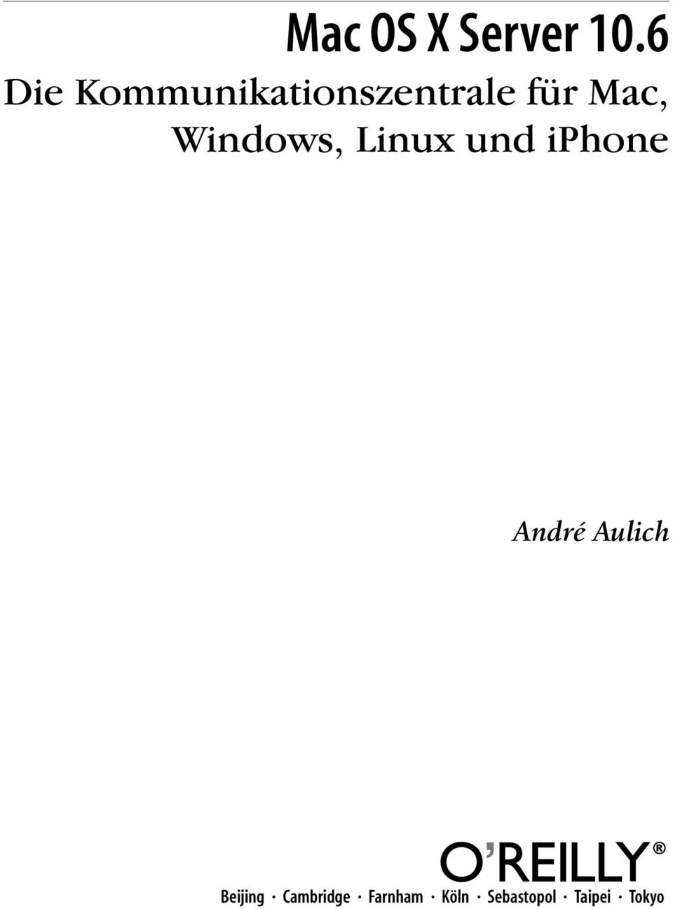 Windows, Linux und iphone André