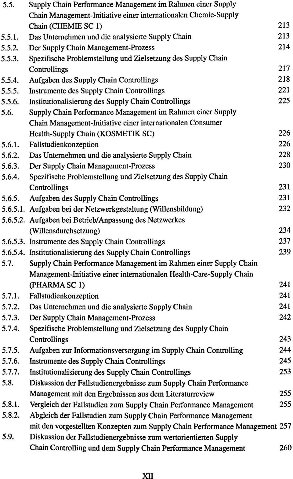 5.5. Instrumente des Supply Chain Controllings 221 5.5.6.