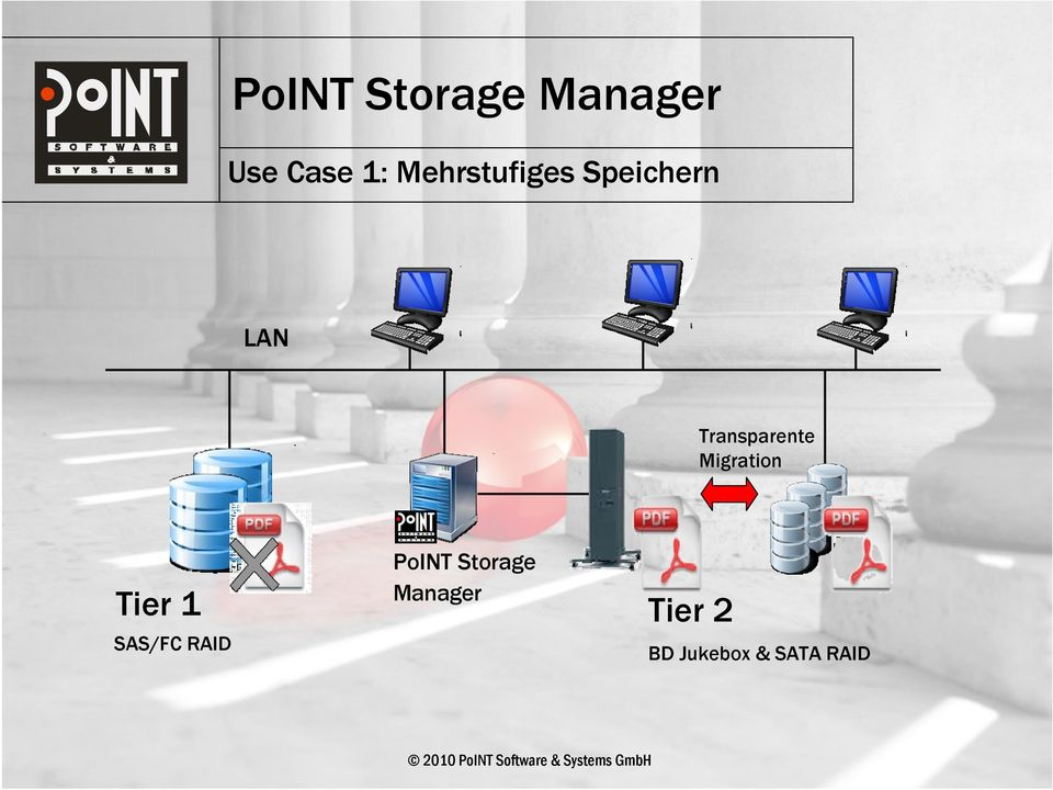 SAS/FC RAID PoINT Storage