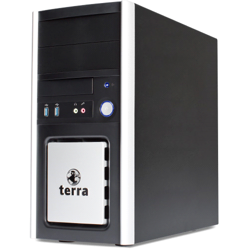 Datenblatt: TERRA PC-BUSINESS 4000 GREENLINE Der Bestseller mit installiertem Windows 7 Professional & DVD-Brenner TERRA Standard Business PC, ideal für effiziente Büroarbeit, Office- und