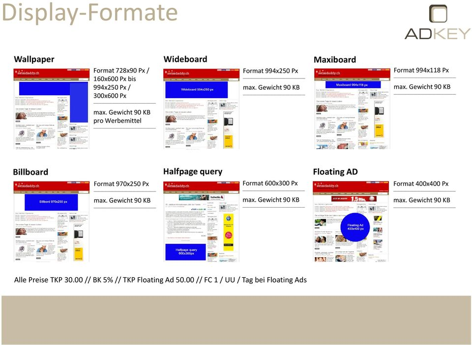 Format 970x250 Px Halfpage query Format 600x300 Px Floating AD Format 400x400 Px