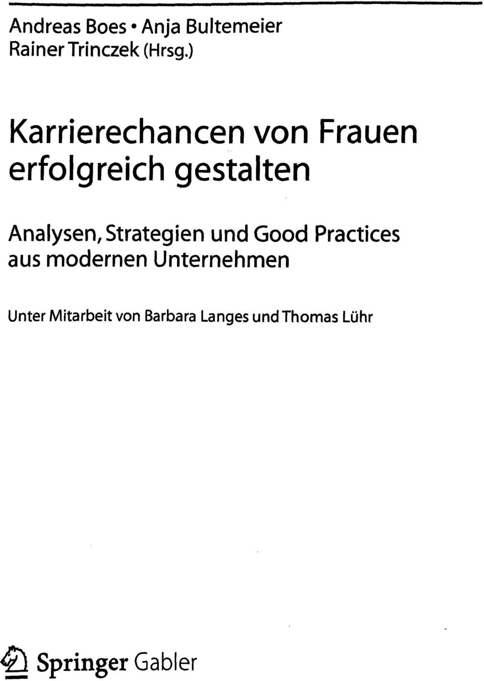 Analysen, Strategien und Good Practices aus modernen