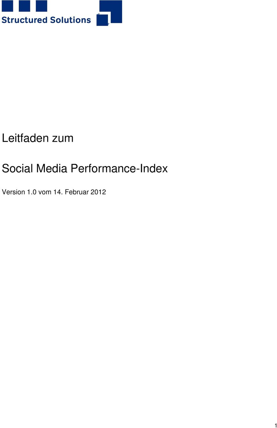 Performance-Index