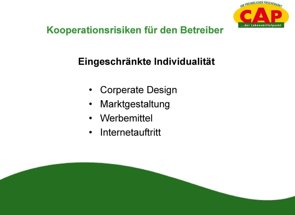 Individualität Corperate Design