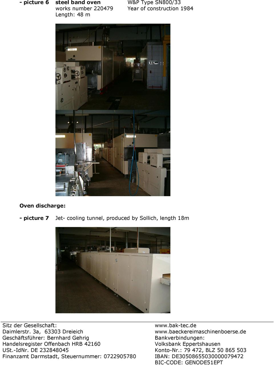 Length: 48 m Oven discharge: - picture 7 Jet-