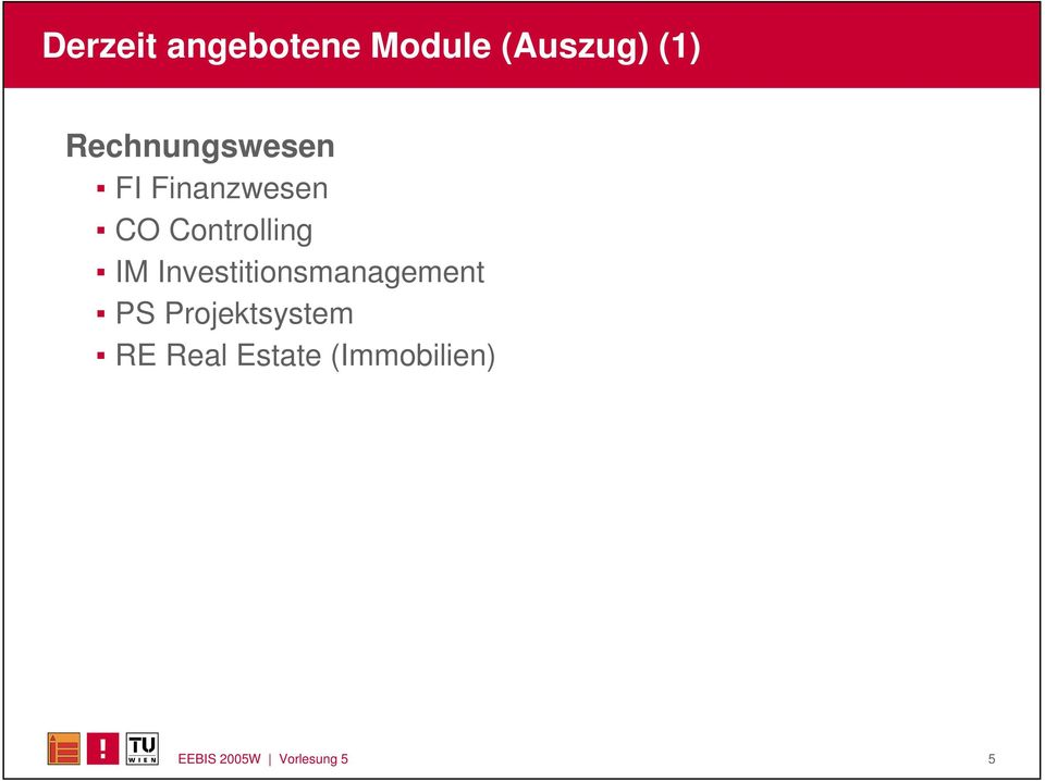 IM Investitionsmanagement PS Projektsystem
