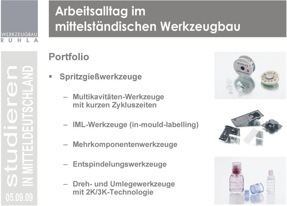 IML-Werkzeuge (in-mould-labelling)
