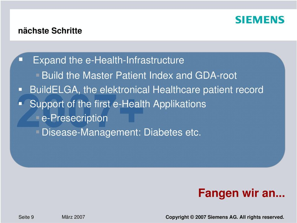 of the first e-health Applikations e-presecription Disease-Management: Diabetes