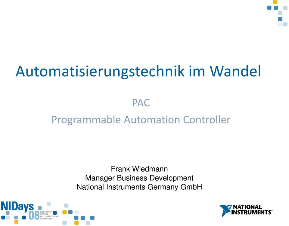 Frank Wiedmann Manager Business