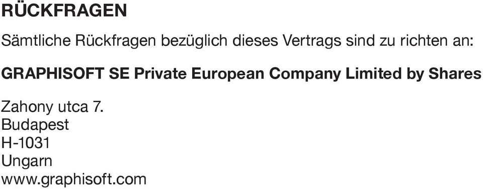 SE Private European Company Limited by Shares