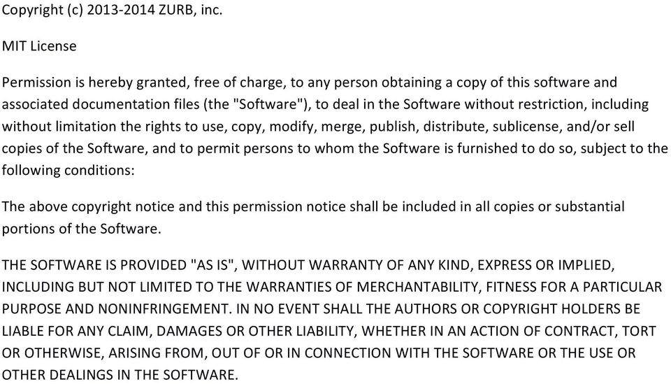 restriction, including without limitation the rights to use, copy, modify, merge, publish, distribute, sublicense, and/or sell copies of the Software, and to permit persons to whom the Software is