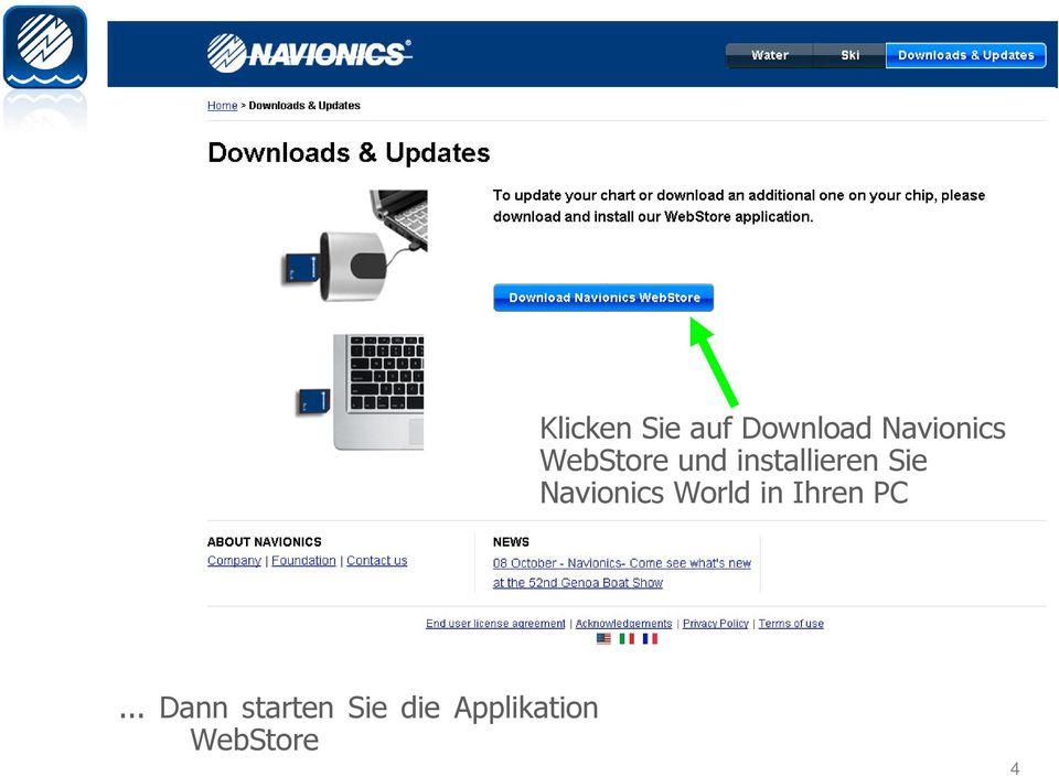 Navionics World in Ihren PC.