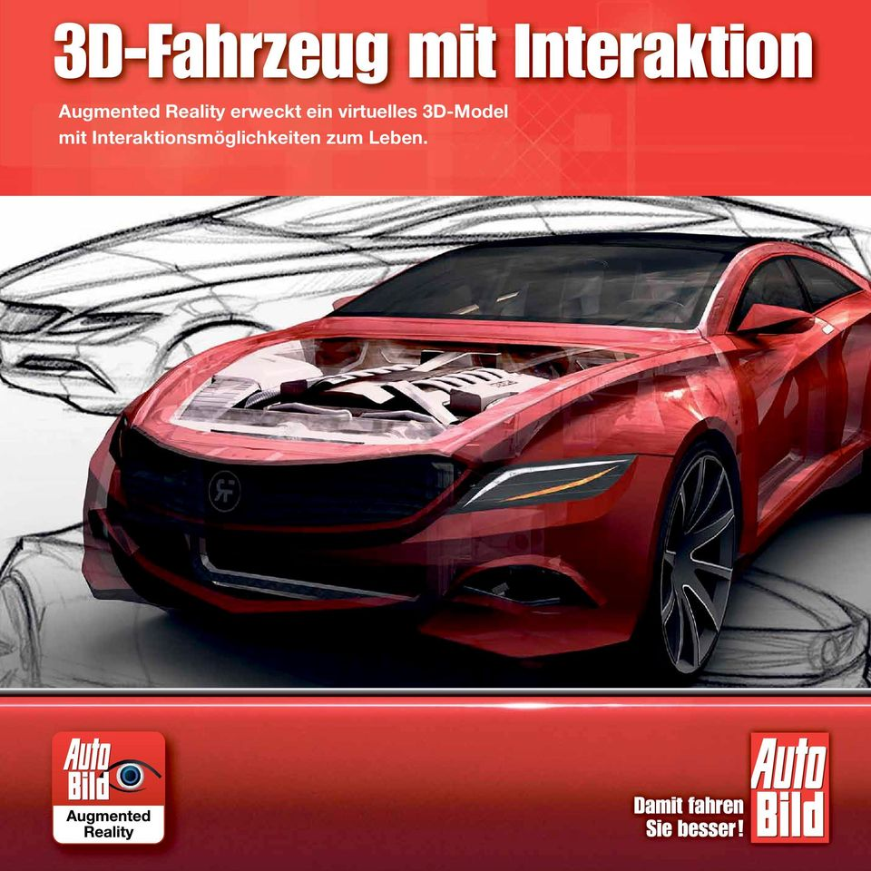 virtuelles 3D-Model mit