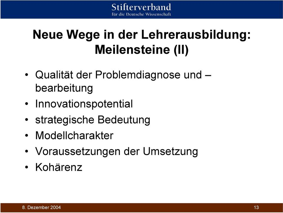 Innovationspotential strategische Bedeutung