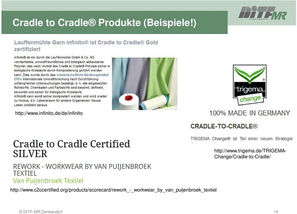 de/trigema- Change/Cradle-to-Cradle/ http://www.c2ccertified.