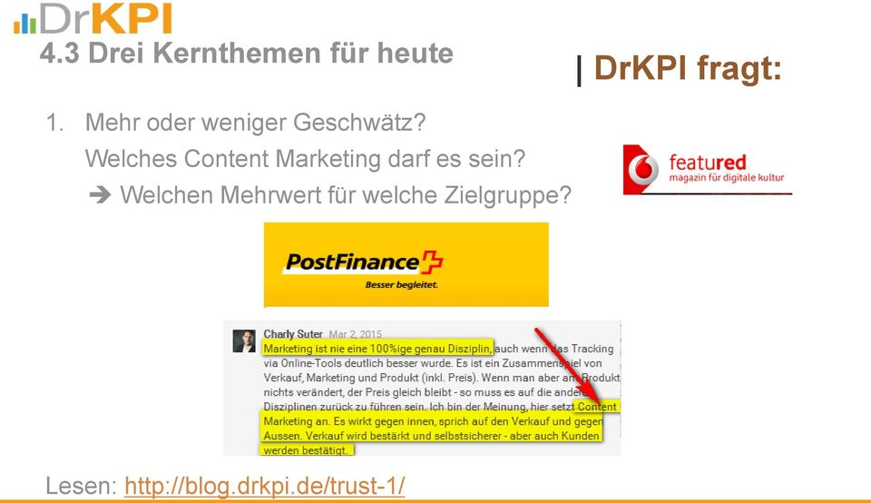 Welches Content Marketing darf es sein?