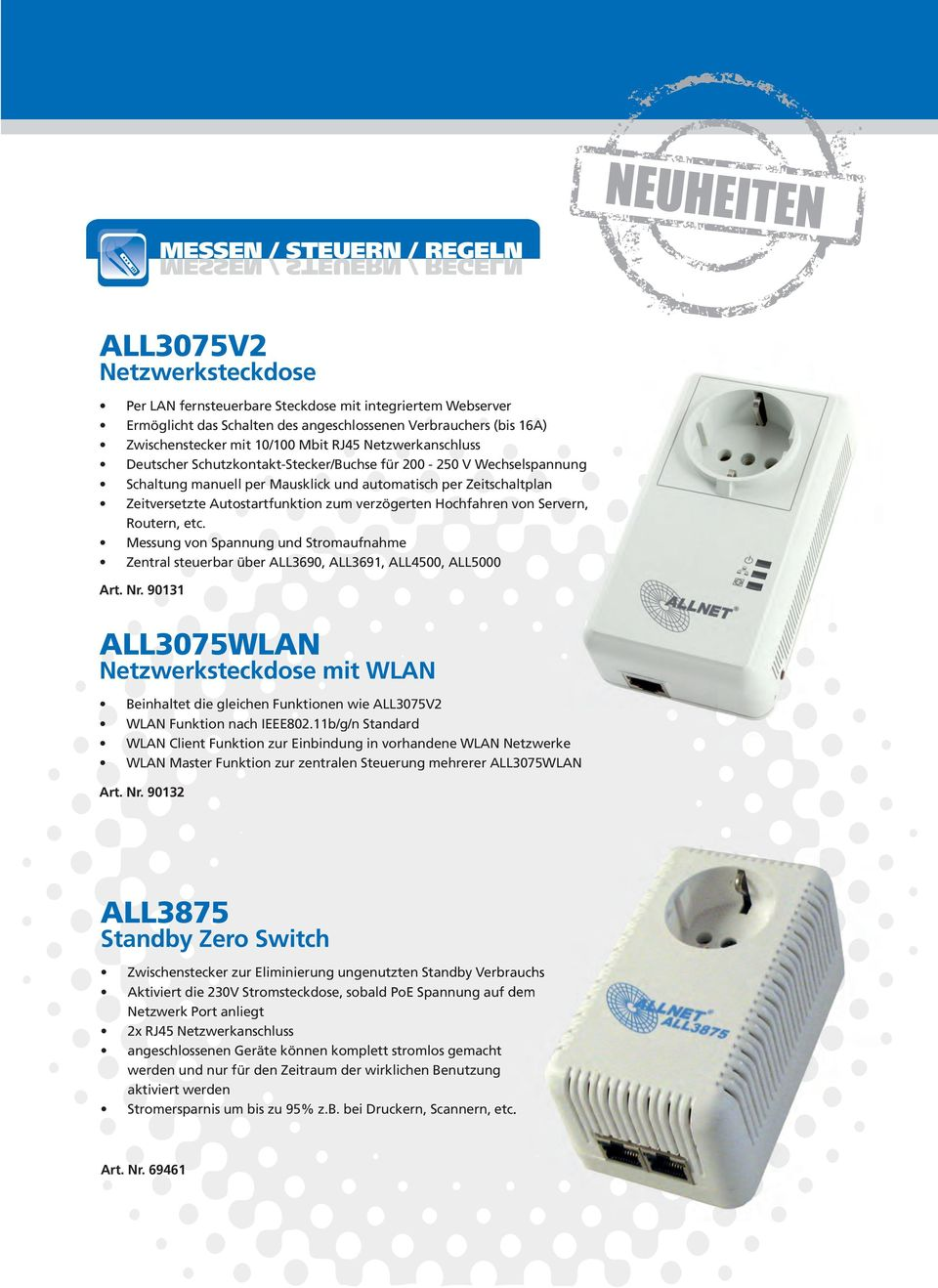 POWERLINE ALL ALL168222SINGLE 200MBPS POWERLINE/300MBPS WLAN 200MBPS ...
