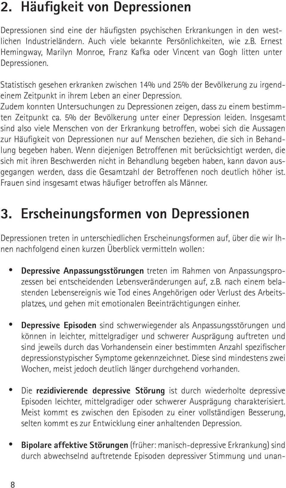 Contemporary Depression Und Sucht Arbeitsblatt Picture Collection ...