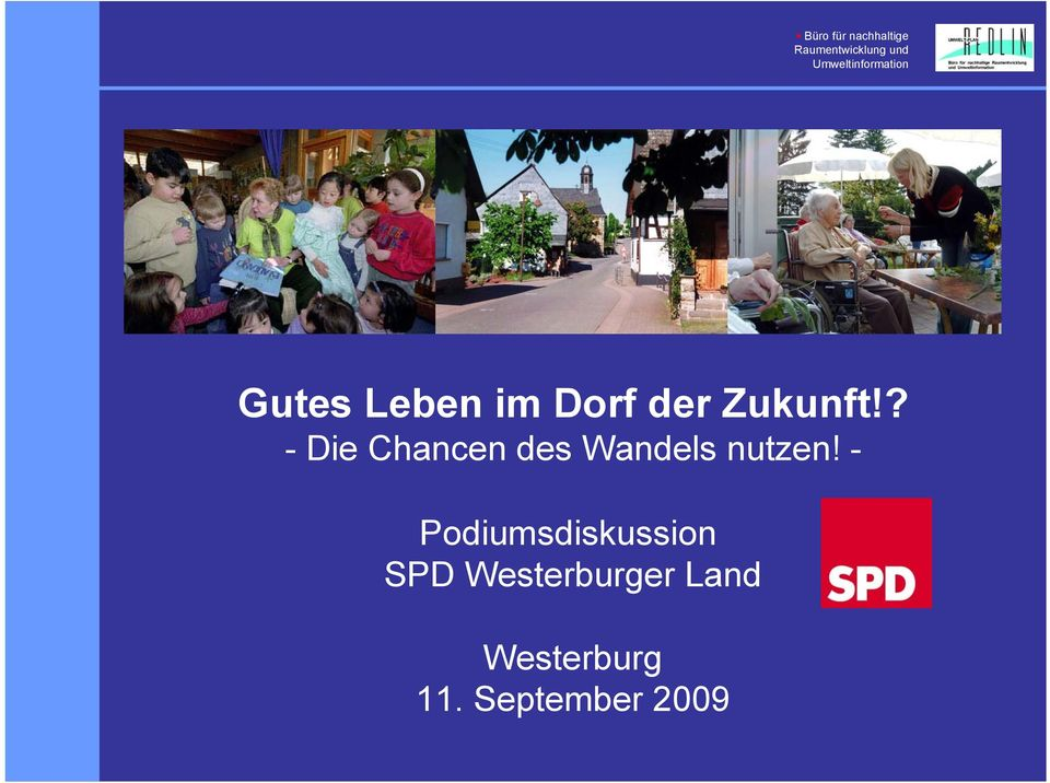 - Podiumsdiskussion SPD